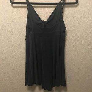 Urban Outfitters Tie front romper